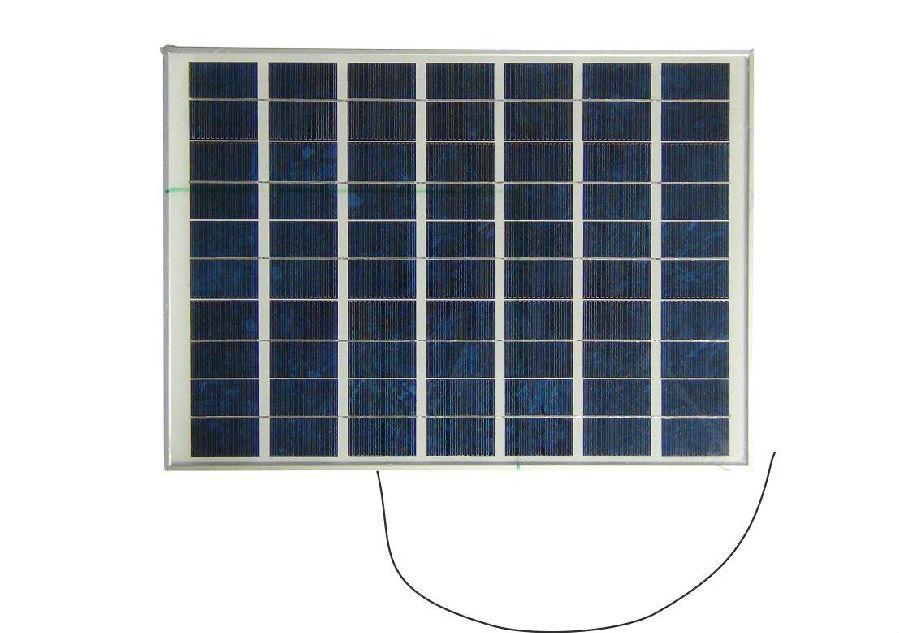 带4.6米线太阳能电池板 ,工作电压:17.8v,  电流:2.25a, 功率:40w.